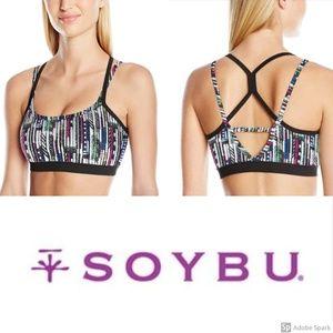 Soybu Sports Bra Levity Yoga Fitness Circuit M L